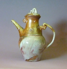Woodfired Tall Teapot