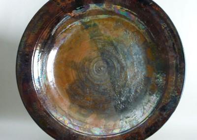 Large Raku Platter