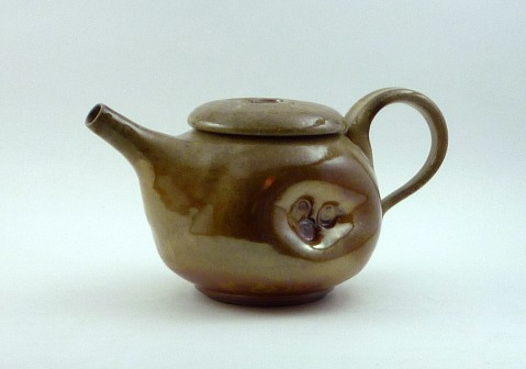Small Shino Teapot
